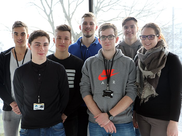 German apprentices experience UK college life