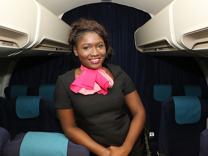 Travel student lands a job with top airline