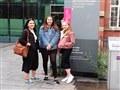 Fashion students visit new Whitworth Exhibition