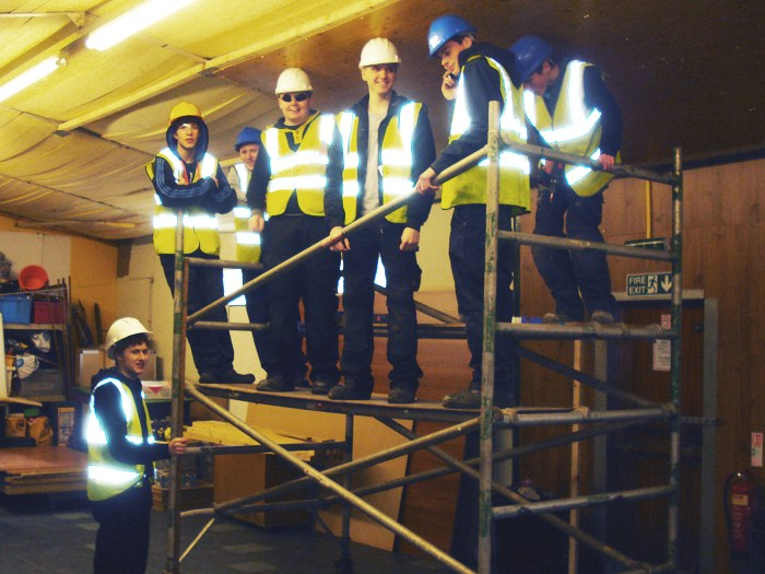 Carpentry & Joinery students