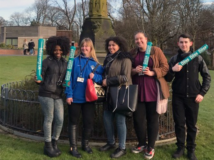 Students lend helping hand to baby charity