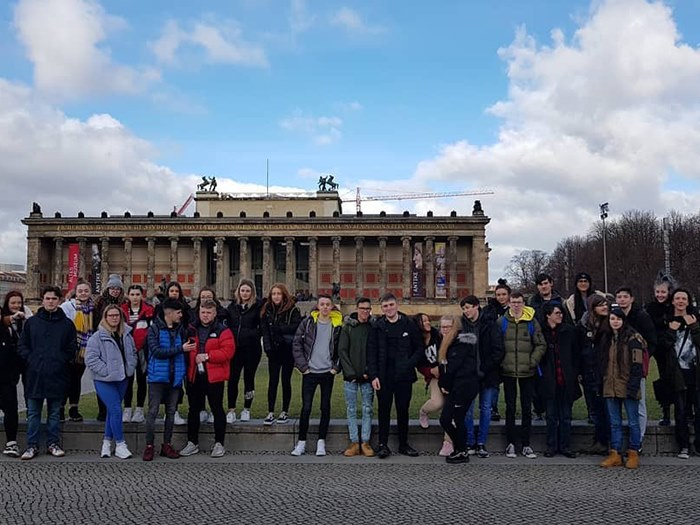 Students visited a variety of landmarks & museums