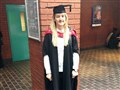 Former sport student graduates with masters degree