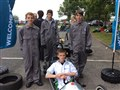 Racing success for students