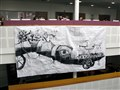 Graphics students' street art comes to life