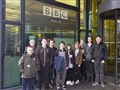 Lights, camera, action for students at BBC innovation day