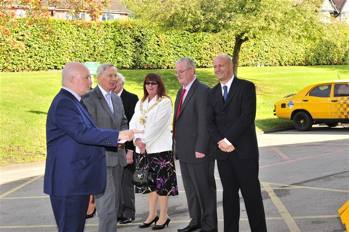 HRH and the Civic Mayor of Tameside