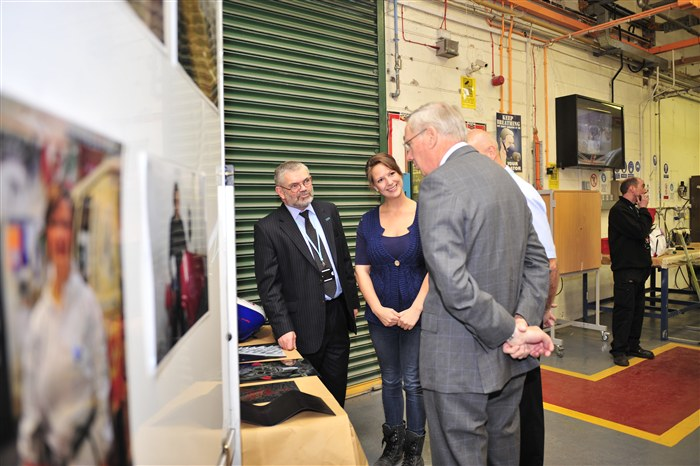 HRH visits the Motor Vehicle department