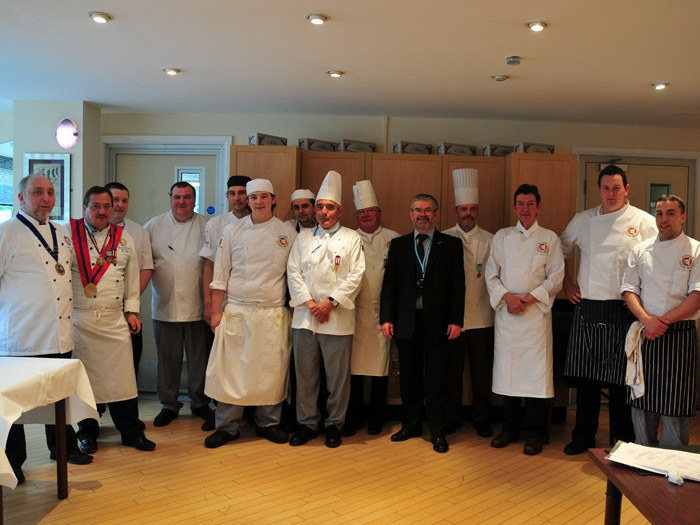 Association Culinaire Française (North West Branch) regional final of the Escoffier Challenge.