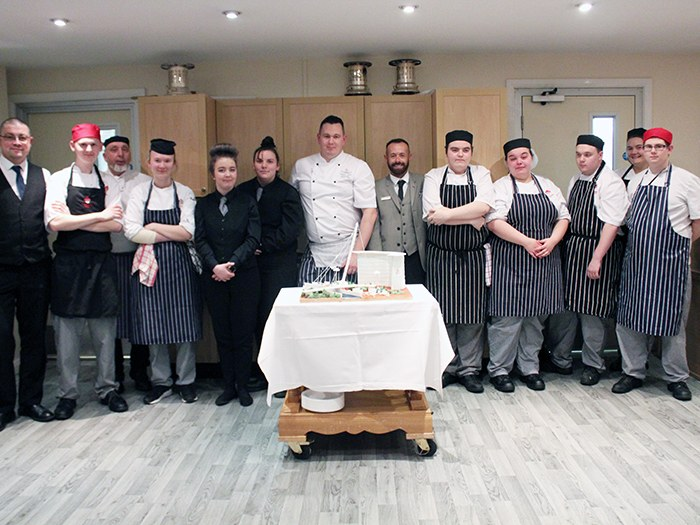 Five star service for college restaurant guests