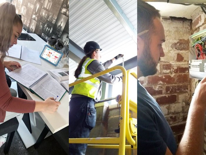 Apprentices go the distance