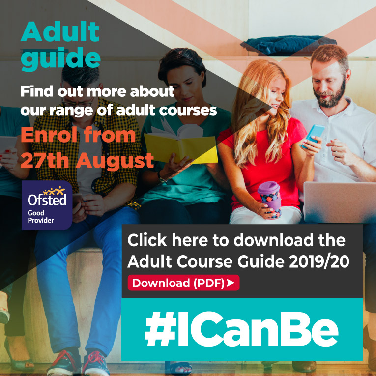 Click for Adult Course Guide Summer 2019 (PDF)