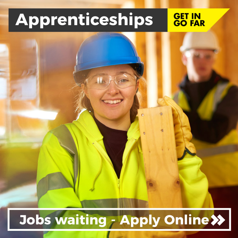 Apprentice - Apprenticeships at Tameside College. Jobs waiting