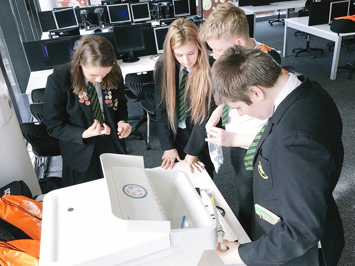 School STEM event goes off with a bang