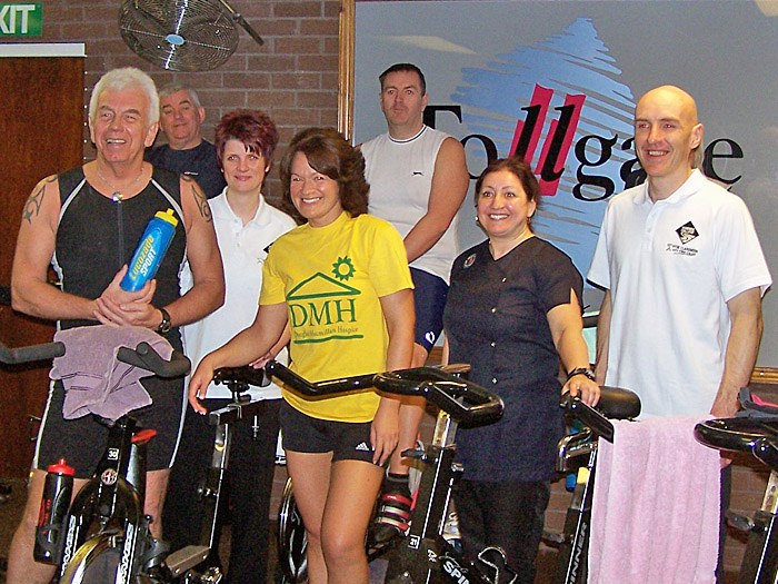 At the Spinathon in Stoke