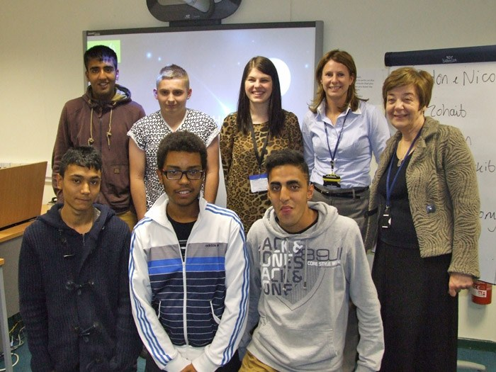 A big thank you to Shona Melvin (back/centre) for giving our students a Business Master Class!