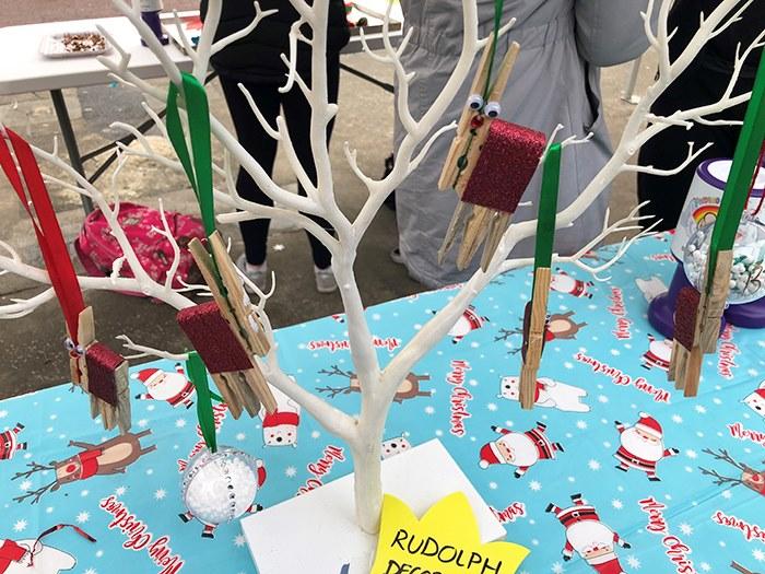Students handmade goods were on sale