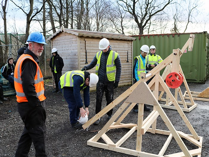 'Catapulted' back in time to learn new skills
