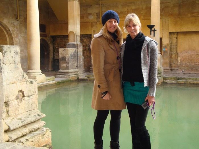 Exploring the Roman Baths