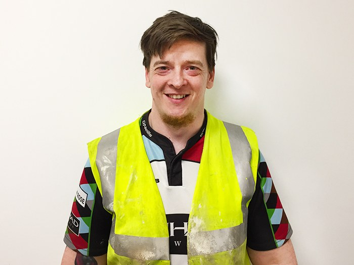 Adult learner lands dream role in construction