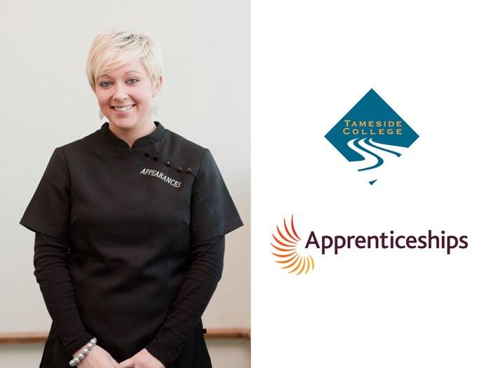 Donna Perks - Level 3 Advanced Hairdressing Apprentice.