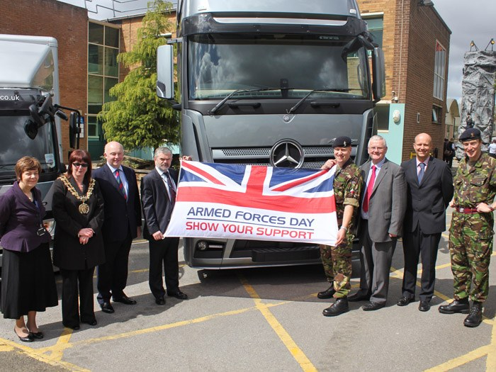 Driver CPC & Territorial Army Open Day 2012
