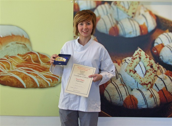First place Award Winner - Hayley Davies.