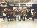 Travel students take tips from top airline