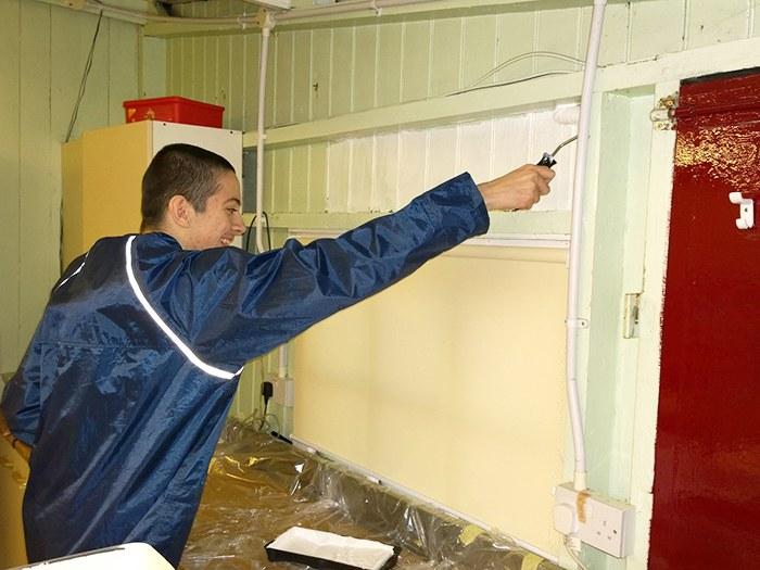 E2E Learner Callum Raynor Volunteering.