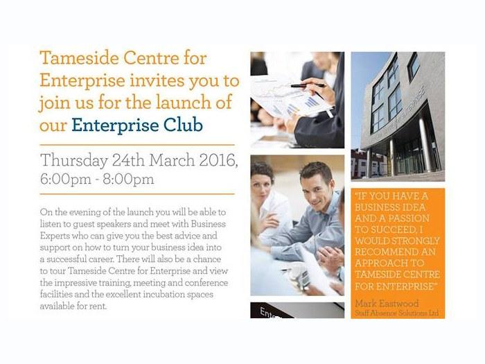 Tameside Enterprise Club.