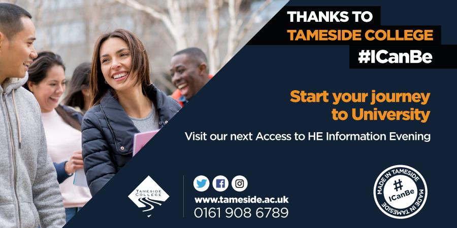 Access to Higher Education - Information Evening