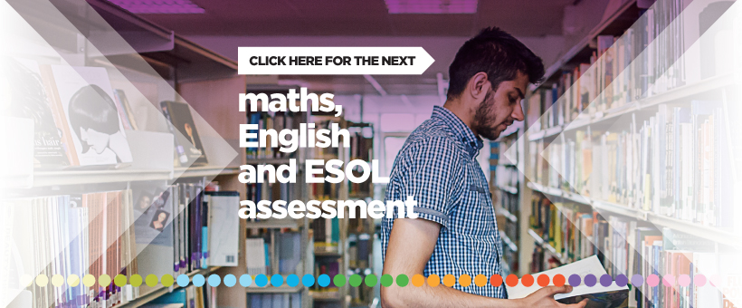 ESOL - Assessments (for starting September 2020)