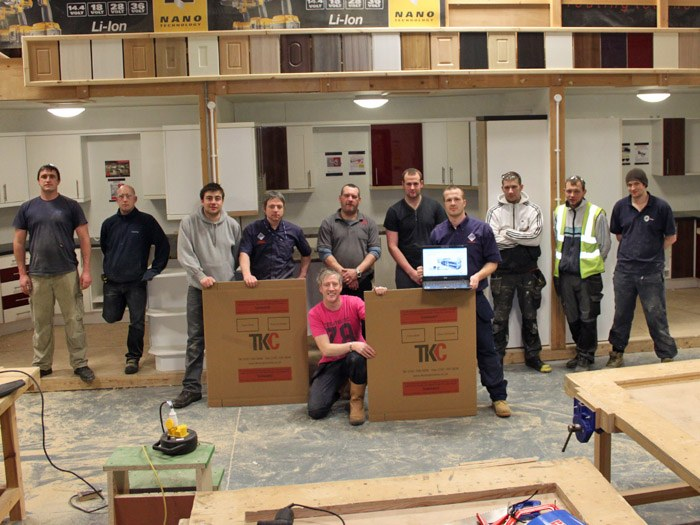 The Tameside College Carpentry and Joinery Team