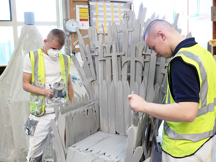 Construction students bring Game of Thrones to Ashton