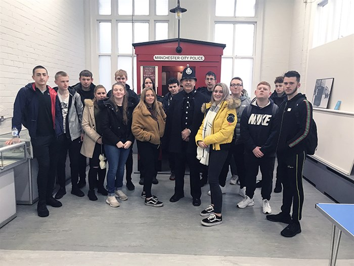 Students on the beat at police museum