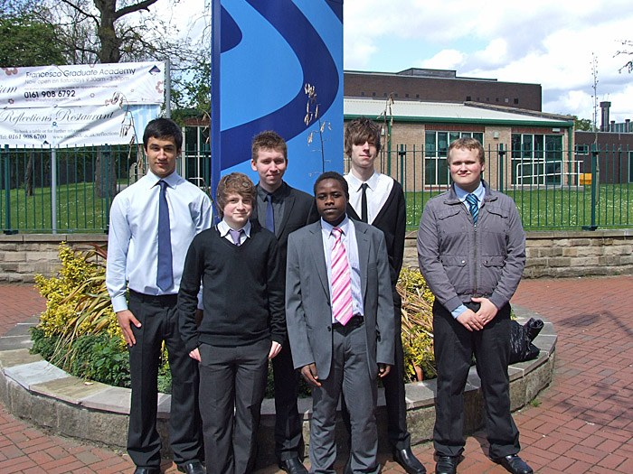 Graduates from the Tameside College Career Academy