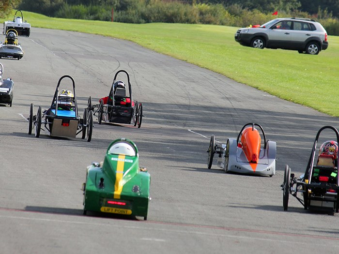 The students will race at Aintree in September