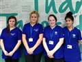 Students celebrate placements at Tameside Hospital