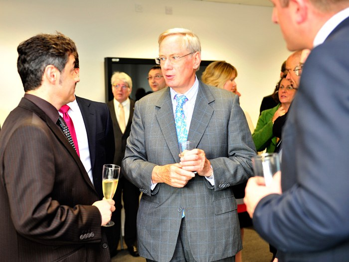 HRH during the opening of the TCFE.