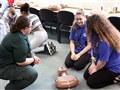 Students learn to save lives for RestartAHeart