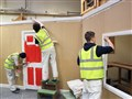 Construction students get set for Christmas