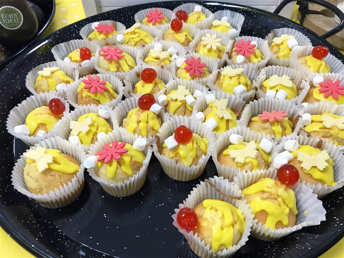 Cupcakes made by students