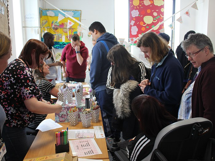 Students get creative with health and social event