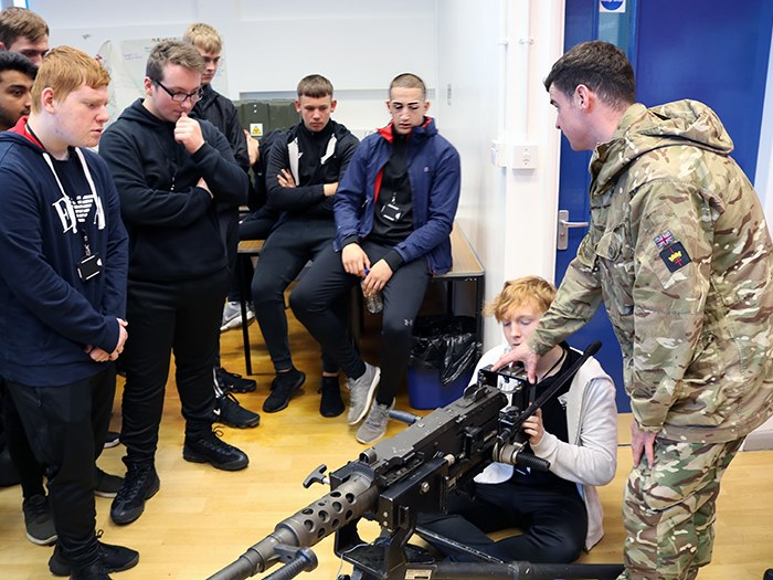 Public services students call in the troops