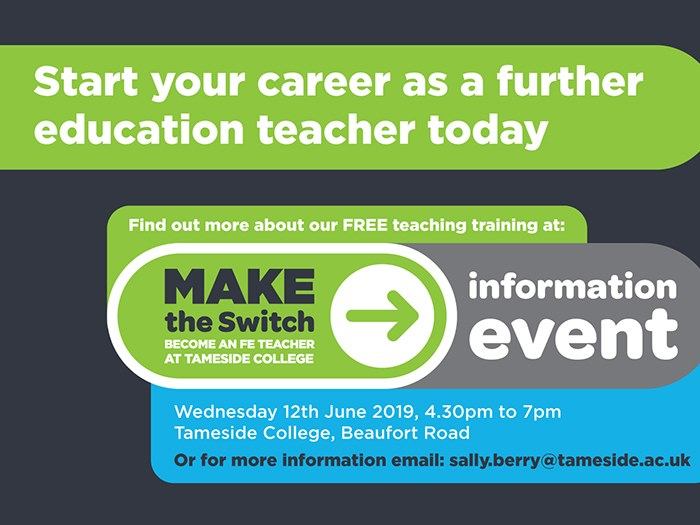 Could you 'make the switch' to teaching?