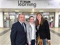 Student shadows local MP at Women's Event for #NAW2017