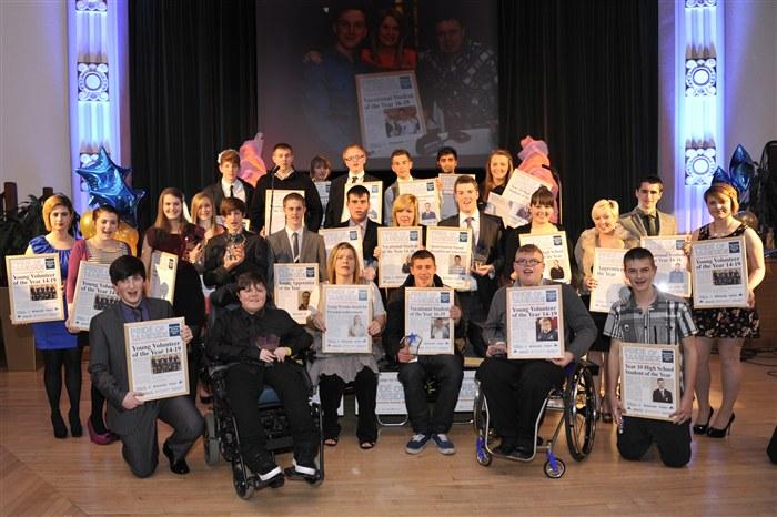 Youth Achievement Award winners