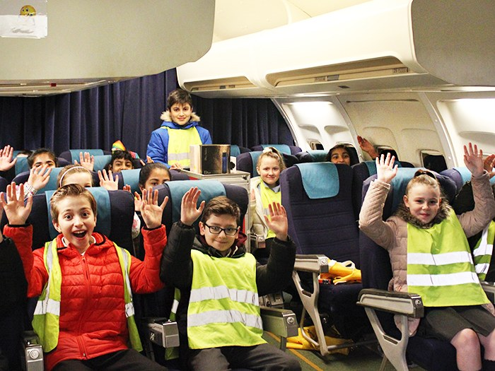 Primary school pupils have a blast at Tameside College
