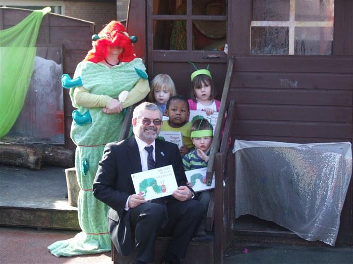 Principals visit to the crèche