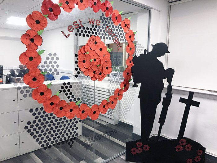 Students create moving remembrance tribute
